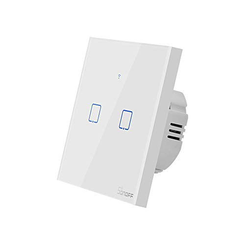 Sonoff T0 EU TX - Interruptor de luz táctil (2 marchas)