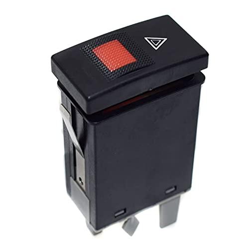 zhuzhu Cambio de Luces de Advertencia de Emergencia de reemplazo FIT para A4 B5 1996-2002 8D0941509E (Color : Black)