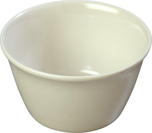 Carlisle 4354042 Bouillon Cups, Set of 24 8-Ounce, Melamine, Bone