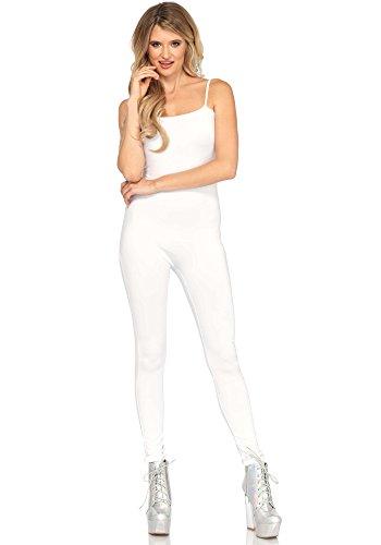 LEG AVENUE 3763 - Basic Unitard, Größe S/M (Weiß)