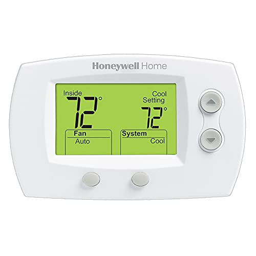 Honeywell TH5220D1029/U 5000 Non-Programmable Heating and Cooling Digital Thermostat, Premier White
