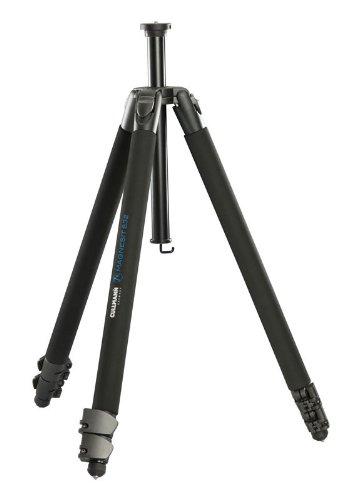 Cullmann MAGNESIT 532 Stativ ohne Kopf (2 Auszüge, Tragfähigkeit 8 kg, 182cm Höhe, Packmaß 70cm)