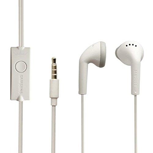 Samsung Original Headset EHS61ASFWE Galaxy S Duos 2 S7582 Kopfhörer in weiß mit Anrufannahmeknopf An-Aus