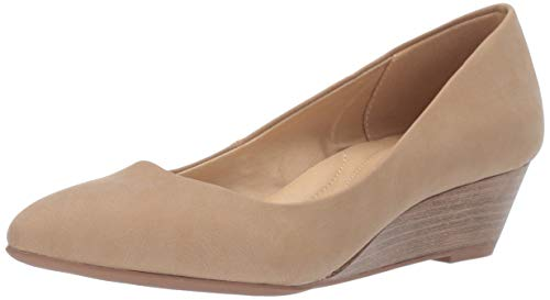 CL by Chinese Laundry Women's Alyce Pump, Nude Nubuck, 6 M US