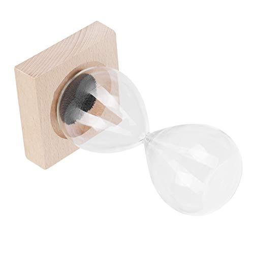 Práctico temporizador de arena, vidrio de arena, juguete de escritorio, reloj de arena, vidrio de arena magnético para buje de dientes, decoración del hogar