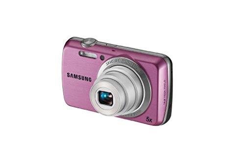 Samsung PL PL20 Kompaktkamera 14.2MP 1/2.33Zoll CCD 4320 x 3240Pixel Pink - Digitalkameras (14,2 MP, 4320 x 3240 Pixel, CCD, 5X, HD, Pink)