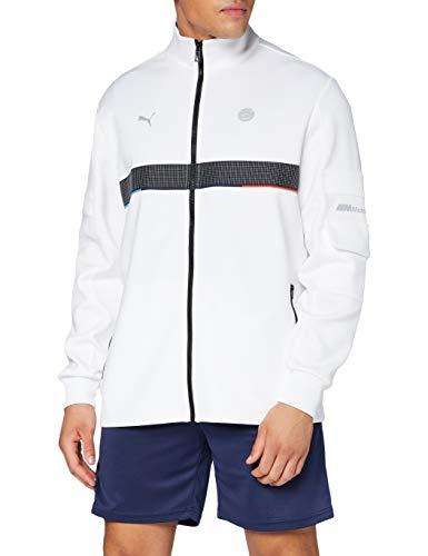 PUMA BMW MMS Life Sweat Jacket, Giacca Uomo, Nero, XL