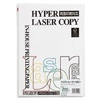 (業務用セット) 伊東屋 ハイパーレーザーコピー A4判 ナチュラルホワイト HP114 25枚入 【×5セット】