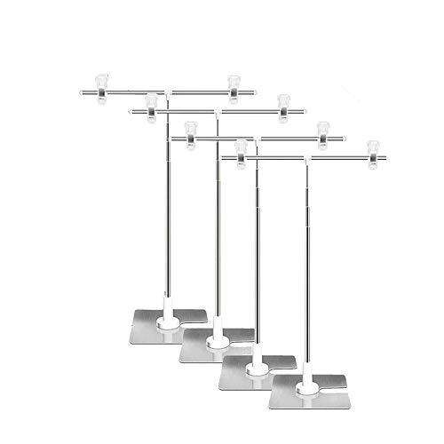 POPスタンド ポップスタンド 販促用 長さ調節OK ポスタースタンド 簡単組み立て コンパクト イベント フリマBBB (4個セット)