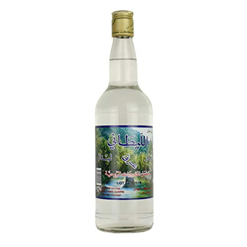 Al Laytany - Original libanesischer Arak, Anisschnaps 48 % Vol. - Arrak in edler 0,75 Liter Glasflasche