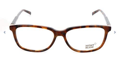 Mont Blanc Brillengestelle Mb0620-F Monturas de gafas, Multicolor (Mehrfarbig), 57.0 para Hombre