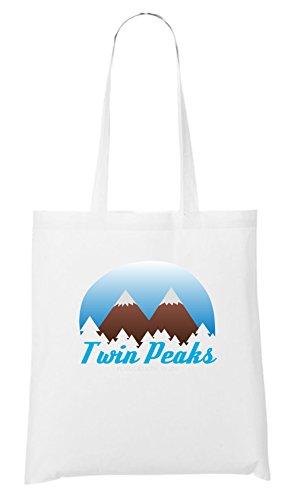 Certified Freak Twin Peaks Stofftasche White