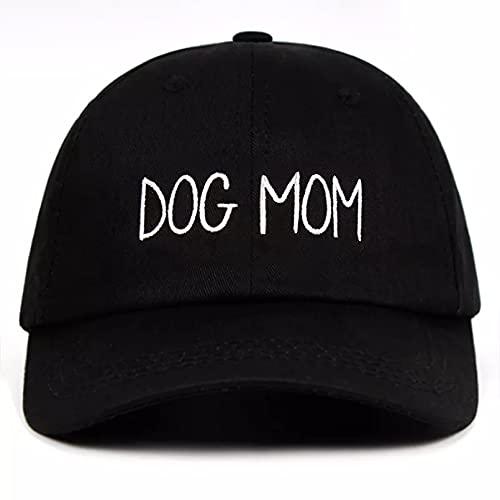 Gorra béisbol Sun Hat Sombrero de papá bordado para mamá y perro Gorra de béisbol para el día de la madre hecha a mano personalizada Gorra de béisbol para embarazadas Sombrero de papá curvo a la moda