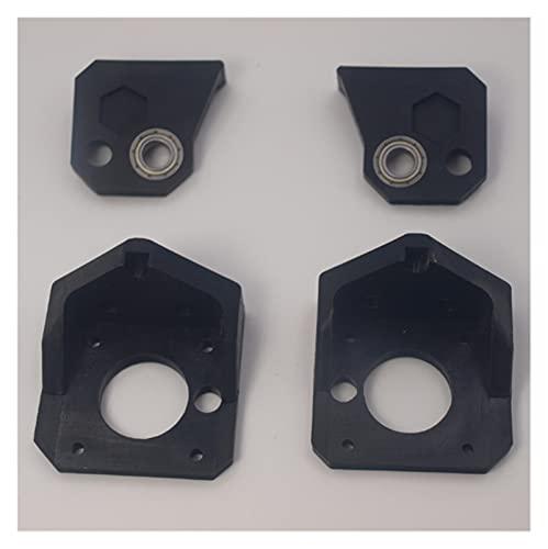 XUNLAN durevole Prusa I3 Hephestos/MK2 Rilavorazione Z End Top Fit Per TR8 Lead Vite 8mm Migliorata Asse Z Staffa inferiore Indossabile