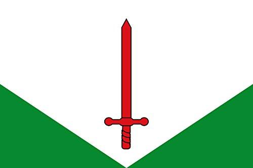 magFlags Bandera Large Sant PAU de Segúries Gerona | Bandera Paisaje | 1.35m² | 90x150cm