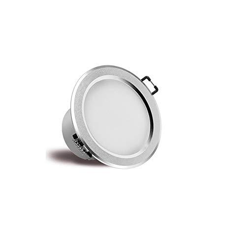 Rekaf Empotrable panel de la luz Sala de estar de la luz Casa comercial Cocina de la escalera Cocina Baño Office Spotlight Dimagen de tres colores Simple y ultra-delgado LED LED LED Luz de techo Lámpa