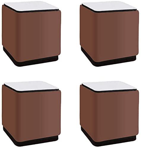 CJDM Patas de Muebles Patas de Mesa de Metal Patas de Muebles de 5 cm Pies Cuadrados de Repuesto Elevadores de Muebles Patas de sofá Patas de sofá Patas de Escritorio Armarios de Cama Elevadores