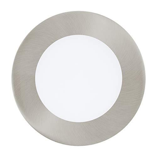 Preisvergleich Produktbild EGLO Einbauleuchte,  Metallguss,  5.5 W,  nickel-matt