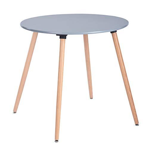 mesa madera redonda fabricante Homy Lin