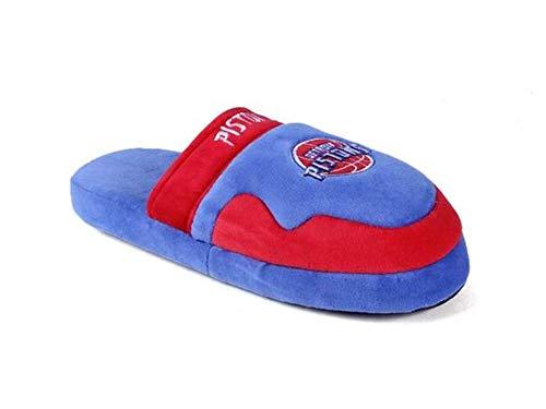 Comfy Feet Detroit Pistons NBA Scuff Slip On Slipper - Medium