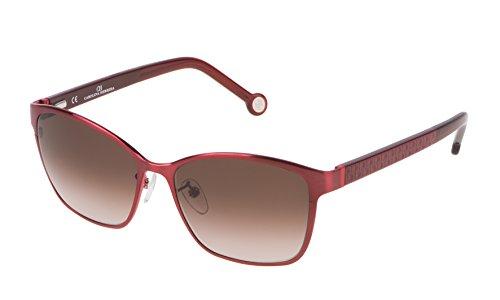 Carolina Herrera SHE067560SBY Gafas de sol, Rojo, 56 para Mujer