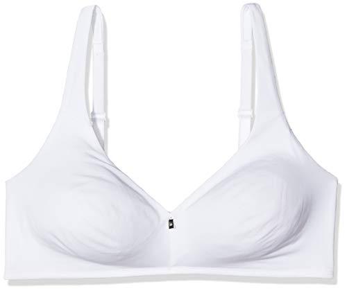 Triumph Damen Bügelloser BH Body Make-Up Cott To N, Weiß (White ), 70D (Herstellergröße: 32D)