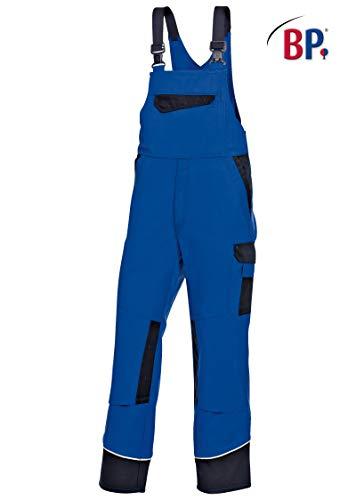 BP 1796-720-110-54s Arbeitshosen, mit doppeltem Taillenknopf und elastischem Rückenteil, 305,00 g/m² Verstärkte Baumwolle, Nachtblau/Anthrazit ,54s