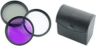DMK POWER 49mm Multi-Coated 3 Piece Filter Kit (UV-CPL-FLD) for Canon, Nikon, Sony, FujiFilm, Olympus, Pentax, Sigma, Digi...