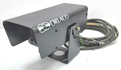 Orlaco 80AFEX 0103980 ATEX - Telecamera con zoom digitale a prova di esplosione, con cavo