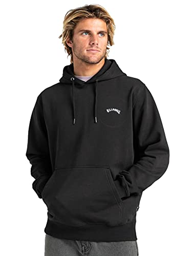 Billabong Original Mens Pullover Hoody Large Black