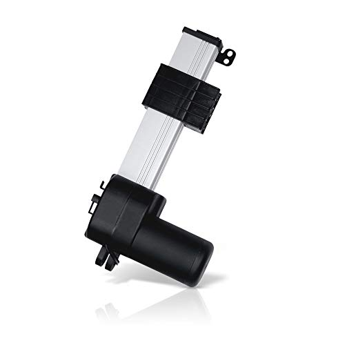Track Linear Electric Actuator 12V – (20 in. / 900 lbs.) | Innovative Design and Durable Stroke | for Home, Office, Hospitality, Robotics, Cabinetry, Homecare beds | Model: PA-18-20-900