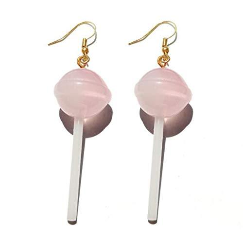 ZSCZQ 25 Stil Ohrringe für Frauen Mädchen 3D Süßigkeiten Frucht Schokolade Spiegelei Apfel Keks Popcorn Geburtstagsgeschenk Schöner Schmuck 15