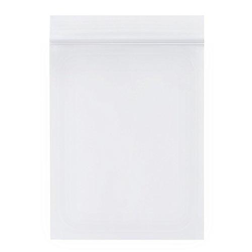 Naler 200 Bolsas Plástico Transparente Cierre Hermético