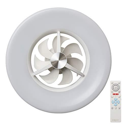 CIRCULIGHT(サーキュライト) LED シーリングサーキュレーター 6畳 調光タイプ シンプルリモコン付き ドウシシャ ホワイト DCC-06NM