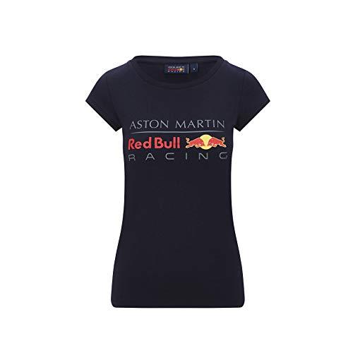 Red Bull Racing - Offizielle Formel 1 Merchandise - Team Logo-T-Shirt Damen - Blau - Baumwolle - L