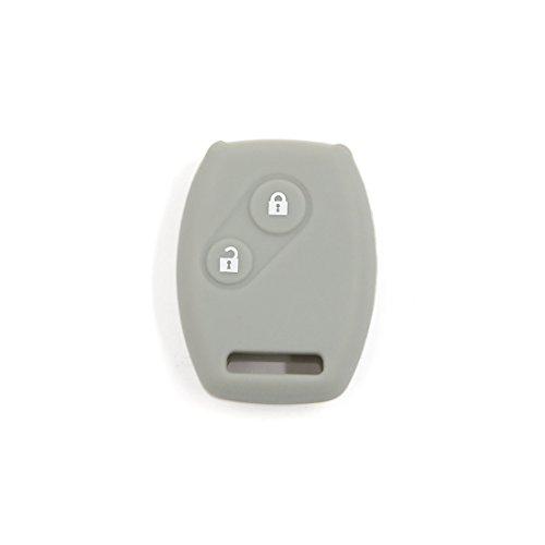 sourcing map 2 boutons Gris pour homme de clé en silicone Coque de protection support