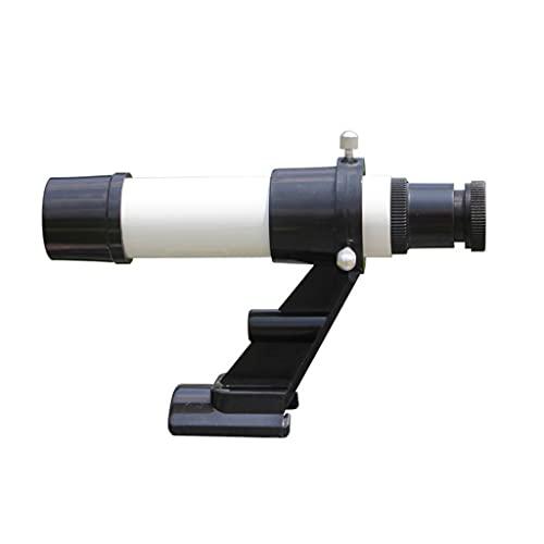 LEXIANG Telescopio buscador de Estrellas telescopio Montaje astronómico telescopio monocular 5X24 buscador de plástico visores de Rifle