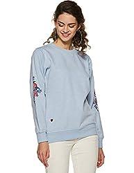 Duke Womens Sweatshirt (LFX603Skyway MixL_Skyway Mix_L)