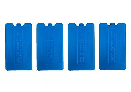 Pincho Set de 4 acumuladores de frío de Larga duración Reutilizables, Bloques de Hielo, para neveras portátiles, Bolsos Nevera etc.