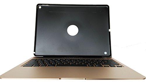 i-CaseBoard X6-O FR - Teclado con Funda integrada y batería Externa para Apple iPad Air 2, Color Bronce y Oro