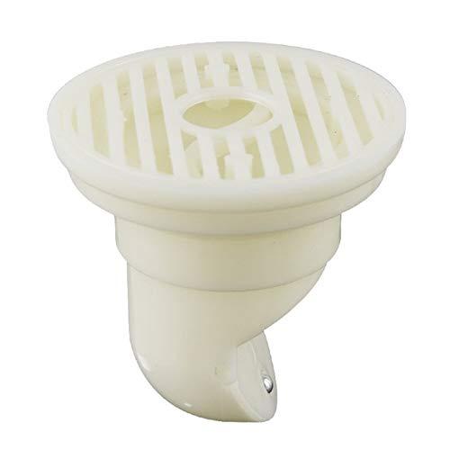 JYDQM Desodorante Piso de Drenaje por Gravedad Core Sello Lateral Abierto Escurridor Blanca Enchufe for baño de Ducha de baño de plástico a Prueba de Fugas Core