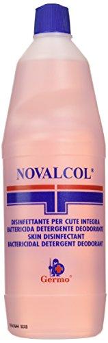 Novalcol - Disinfettante Cutaneo Battericida, Pronto all'Uso, Profumato, Flacone da 1 Litro