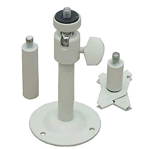 VideoSecu One Height Adjustable 2'-6' Camera Wall Ceiling Mount Bracket for CCTV CCD Box Body Camera Pan Tilt Bracket BMA