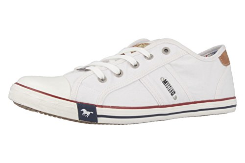 Mustang Damen 1099-302-1 Sneakers, Weiß (weiß 1), 38 EU