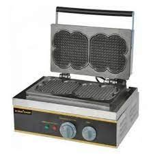 110v Electric Belgium Belgian Double Waffle Maker Machine Baker Iron Mold