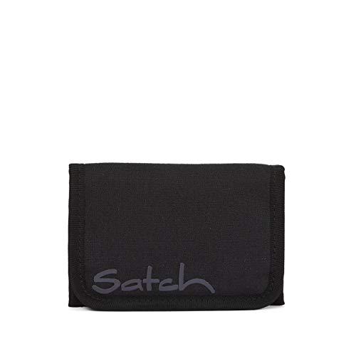 Satch Geldbeutel - Münzfach, Geldscheinfach, Sichtfenster - Blackjack - Black