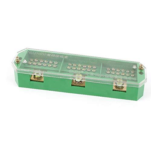 X-DREE FJ6/JHD-2/J 3 Phase 18 Electricity Meter Power Cable Distribution Block(FJ6 / JHD-2 / J 3 fase 18 blocco di distribuzione del cavo di alimentazione contatore elettrico