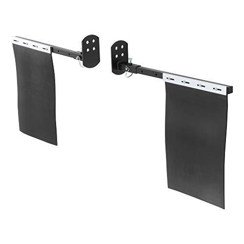 ARIES AR111900 Black Detachable Mud Flaps 18 x 12