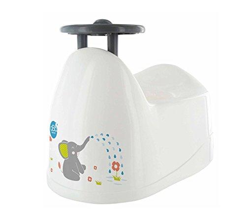 dBb Remond Baby Kindertöpfchen Décor Elefant mit Lenkrad weiß