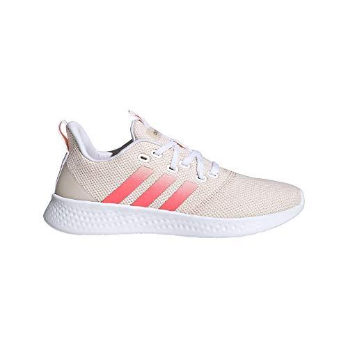 adidas Damen Puremotion Sneaker, FTWBLA/ROSSEN/MATROS, 39 1/3 EU